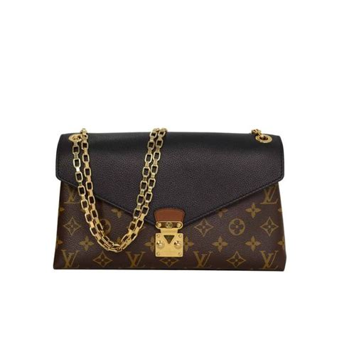 Louis Vuitton Runway Chain It Handbags 226 louis vuitton monogram canvas black leather pallas chain bag ghw louis vuitton michael kors