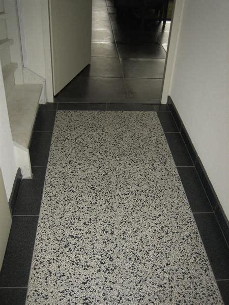 tegels 40 bij 40 granito terrazzo mario als randtegel 40 x 40 cm per tegel