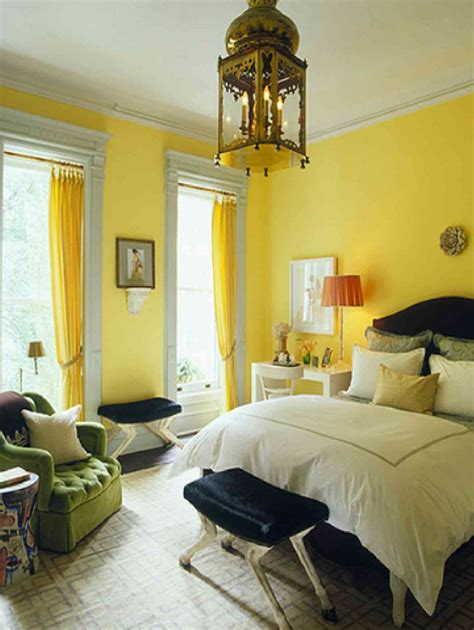 cool bedrooms  yellow touch  interior details