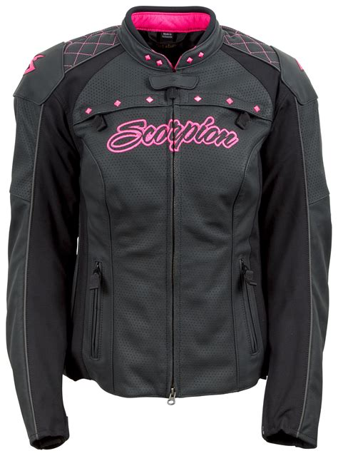 Parka Pink Mc T1310 scorpion s vixen jacket closeout revzilla