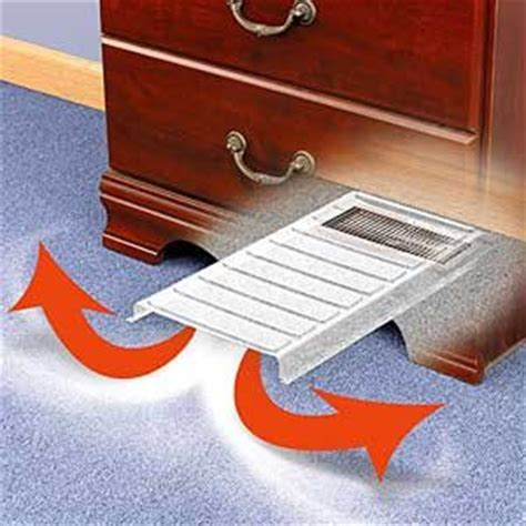 vent extender under bed home kitchen heating cooling air quality space heaters