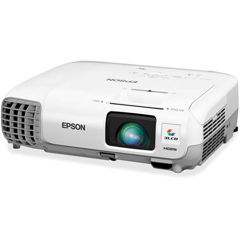Lcd Projector Epson powerlite xga 3lcd projector epson corporation v11h688020