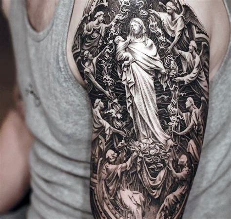 detailed tattoos 60 jesus arm designs for religious ink ideas