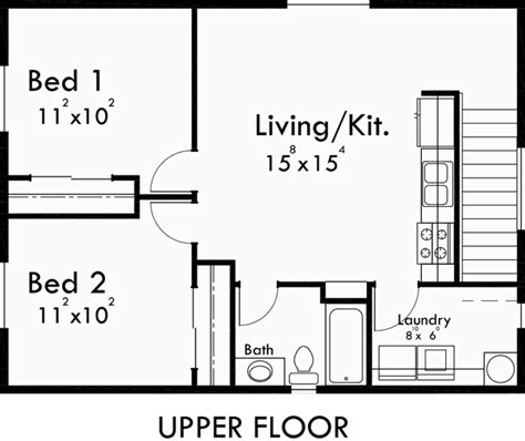 2 bedroom garage apartment floor plans carriage garage plans apartment garage adu plans 10143