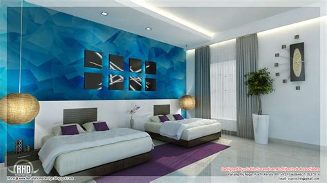 Interior Design For Bedrooms Ideas Beautiful Bedroom Interior Designs Kerala House Design