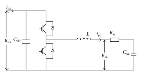 capacitor energy storage circuit circuit structure of capacitor energy storage system