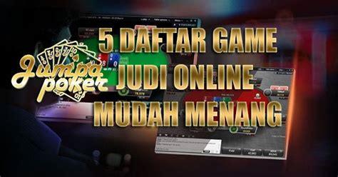 game judi  gampang menang forum geratis indonesia