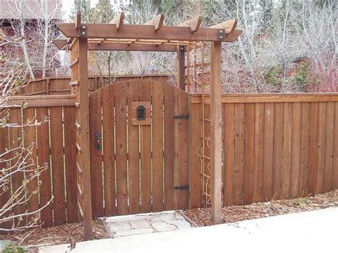 Trellis Gate arched gate n trellis landscape hardscape ideas