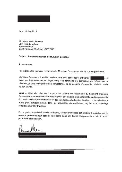 Lettre De Recommandation Immigration Canada Kevinbrossas L Immigration Au Qu 233 Bec Par K 233 Vin B Page 2