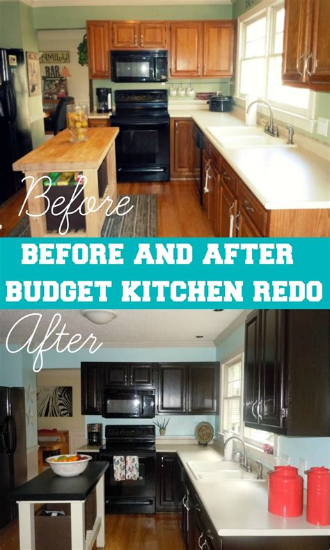 Before After Kitchen Remodel For Under 65 | before after kitchen remodel for under 65