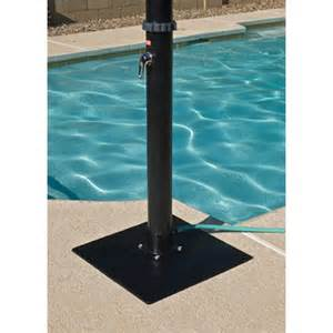 outdoor shower pan outdoor solar shower with base