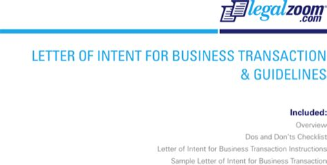 Letter Of Intent For Business Closure Letter Of Intent For Excel Pdf And Word