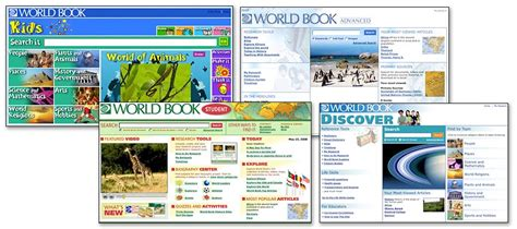 News For This Month Resources by Eresource News E Resource Of The Month World Book