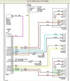2002 chevy cavalier wiring diagram radio 2002 chevrolet free wiring diagrams