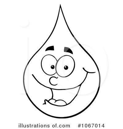 coloring page of water drop drop of water clip art black and white cliparts