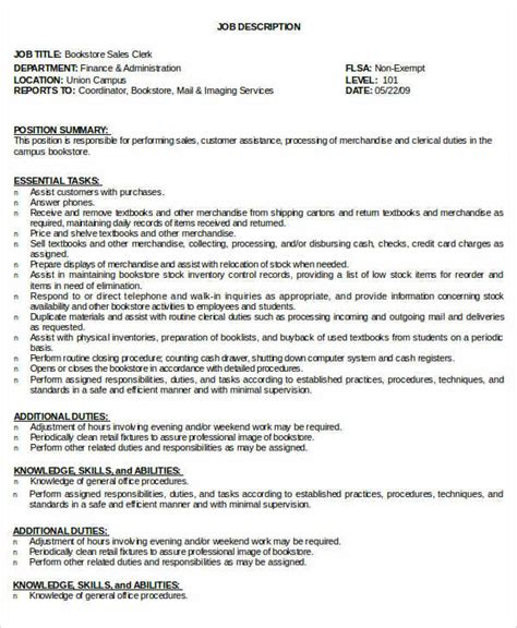 inventory clerk description for resume resume ideas