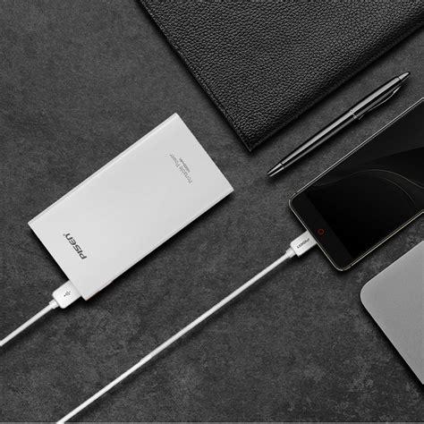 Pisen Tetrad Usb Charger White pisen kabel charger micro usb fast charging white