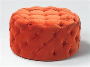 Orange Storage Ottoman 8 Creative Ottomans You Just Must Room Bath