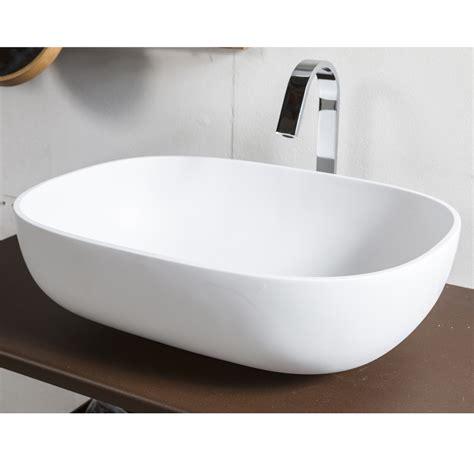 lavabo bagno in resina lavandino in resina bianco per bagno snob by cip 236