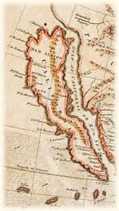 california history map history of california