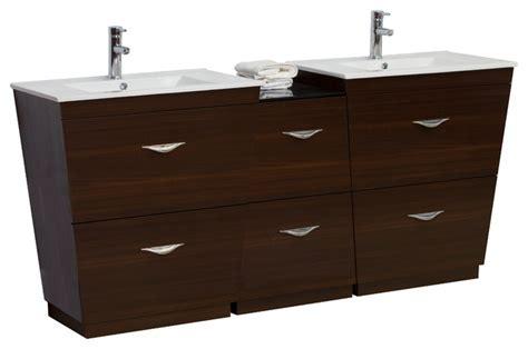 plywood bathroom vanities plywood melamine vanity set wenge 61 5 quot x18 5 quot bathroom