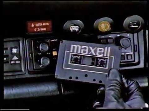 maxell cassette ad maxell cassette ad
