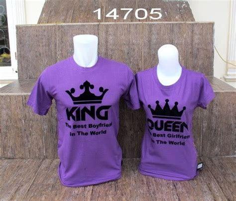 kaos mahkota king ungu grosir baju
