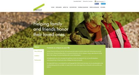 20 Stand Out Funeral Home Website Designs From 2015 That Funeral Home Web Design