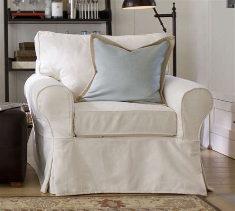 pottery barn armchair sale pb basic slipcovered armchair pottery barn