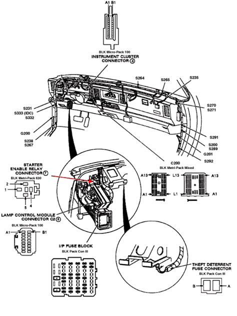 security system 1994 pontiac bonneville parking system where is the starter relay on a 1994 pontiac bonneville