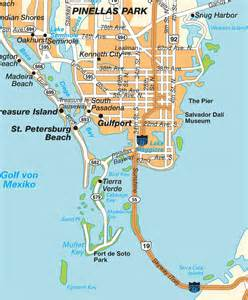 st florida map map st petersburg fl florida usa maps and directions