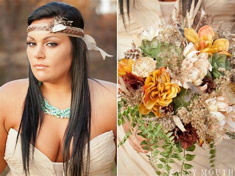 a fall wedding fairytale pocahontas princess inspired photo shoot from sassy photography