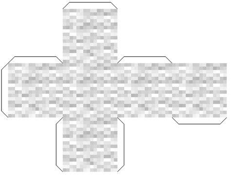 Minecraft Papercraft Black And White - papercraft robhack