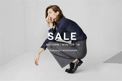Zara Sale by Zara Singapore Quietly Launches Their Autumn Winter Sale