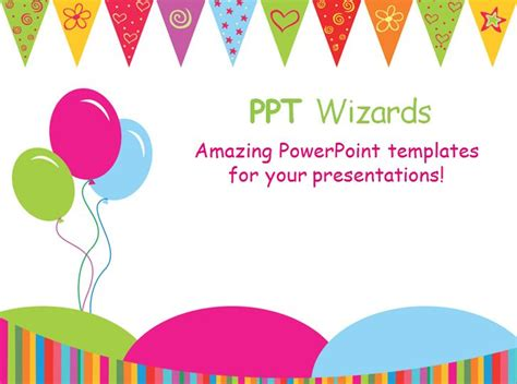 Free Birthday Powerpoint Templates by Happy Birthday Template Madinbelgrade