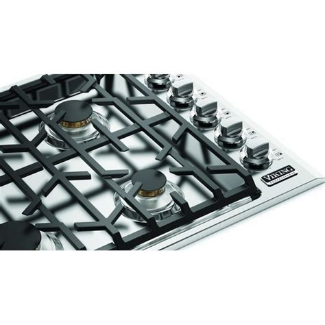 viking cooktops viking vgsu5366bss 36 quot gas cooktop