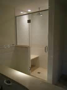 shower door header frameless shower doors with headers