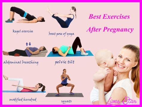 postpartum exercise after c section best exercise after pregnancy livesstar com