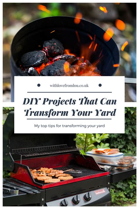 transform my backyard diy projects that can transform your yard with love from lou