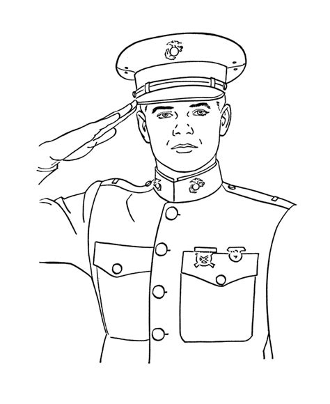 Marine Coloring Pages marine corps coloring pages az coloring pages