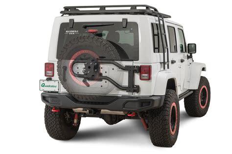 jeep tire carrier maximus 3 0400 0300tc bp modular tire carrier for 07 18
