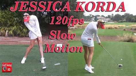 jessica korda golf swing jessica korda 120fps dual angle slow motion driver golf