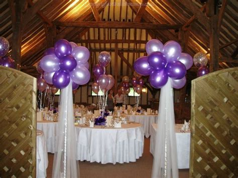 balloons with tulle   Balloons Flowers and Venue Decor for