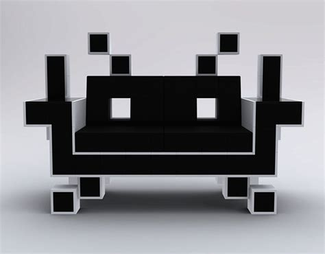 space invader couch space invader couch