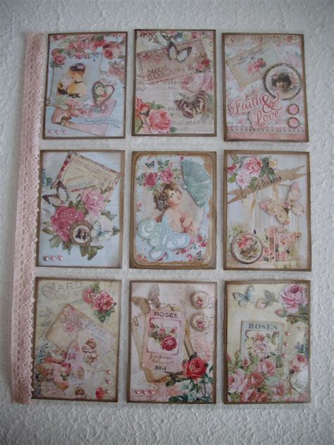 shabby chic pocket pocket letter pinterest chic