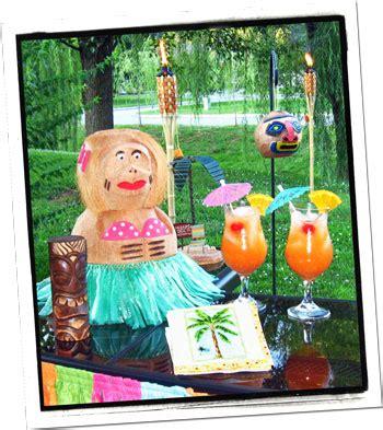 hawaiian luau tiki party decorating ideas hosting guide
