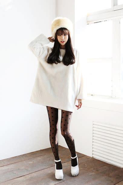 Cadigan Casual Hitam Hijau Pink Korean Style kawaii oversized sweaters