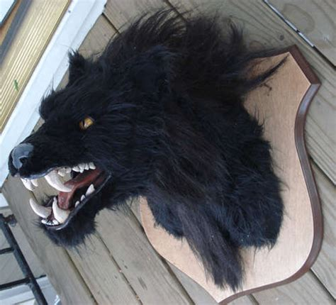 werewolf head tutorial la bouilloire noire halloween decorations