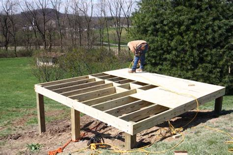 Foundation For Shed Diy by How To Build A Foundation For A Shed On A Slope How To