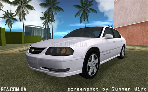 2003 impala ss chevrolet impala ss 2003 для gta vice city gta ua